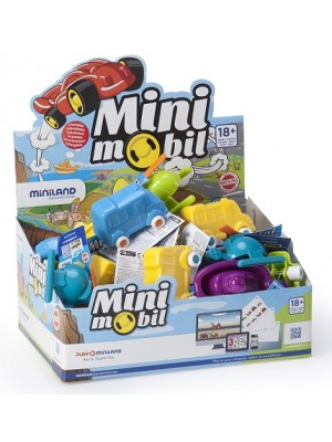 Display Minimobil Go 9 cm - 36 Unidades