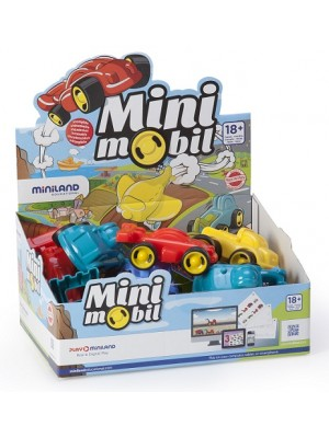 Display Minimobil Go 12 cm - 15 Unidades
