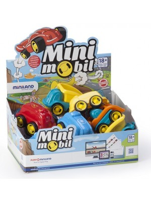 Display Minimobil Jobs 12 cm - 14 Unidades