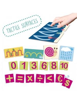 Cartões Táteis de Números e Pré-Escrita