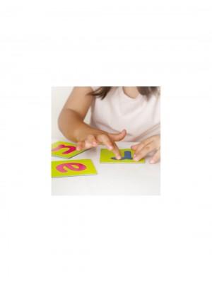 Cartões Táteis de Letras e Sinais de Pontuação