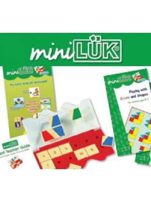 MINILÜK PACK - 10 Cadernos + 1 Suporte