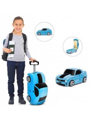 Mala Viagem / Trolley Escolar Criança - Chevrolet Azul