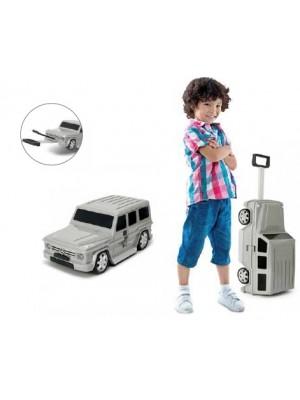 Mala Viagem / Trolley Escolar Criança - Mercedes Cinzenta